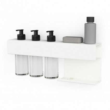 Juncher Designe Bath Rack Hvit