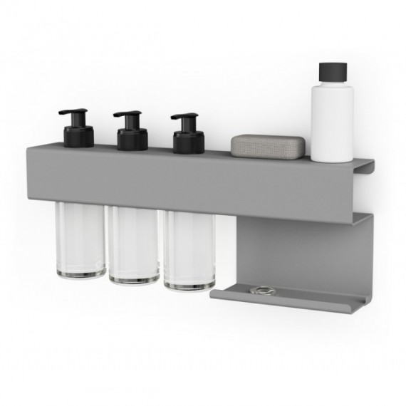 Juncher Designe Bath Rack Grå