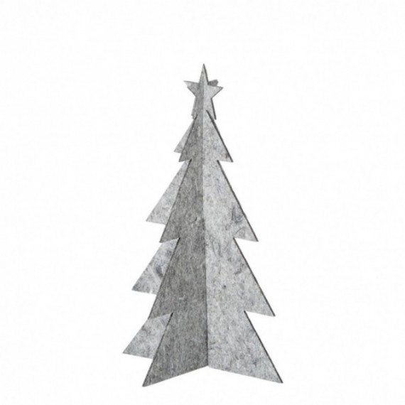 OOhh Juletre 25 cm Grå