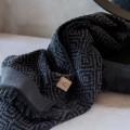 Mette Ditmer Morocco Gjestehåndkle 2-PK 35x55 cm Sort/Grå