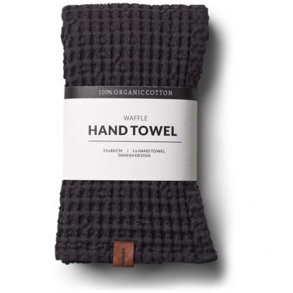 Humdakin Vaffel-Håndkle Coal