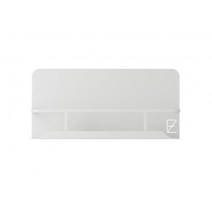 Z Form dusjhylle 38 cm Lys Grå