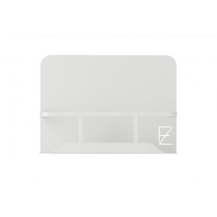 Z Form Dusjhylle 25 cm Lys Grå