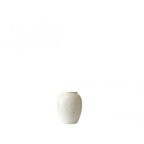 BITZ Vase 12,5 cm Matt Kremfarget
