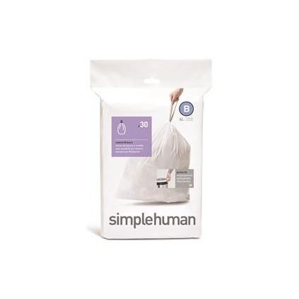 Simplehuman Avfallspose B 6 L