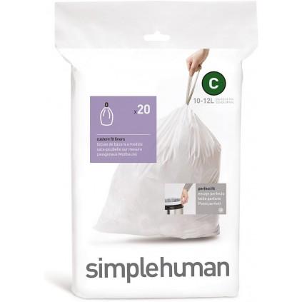 Simplehuman Avfallspose C 10-12L