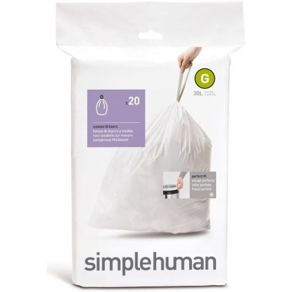 Simplehuman Avfallspose G 30 L