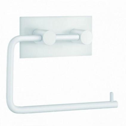 Beslagsboden Toalettrullholder Selvklebende Firkantet Hvit